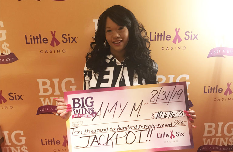 Congratulations to Amy for Winning $10,676.53