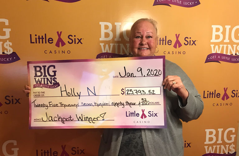 Congratulations to Holly for Winning $25,793.52