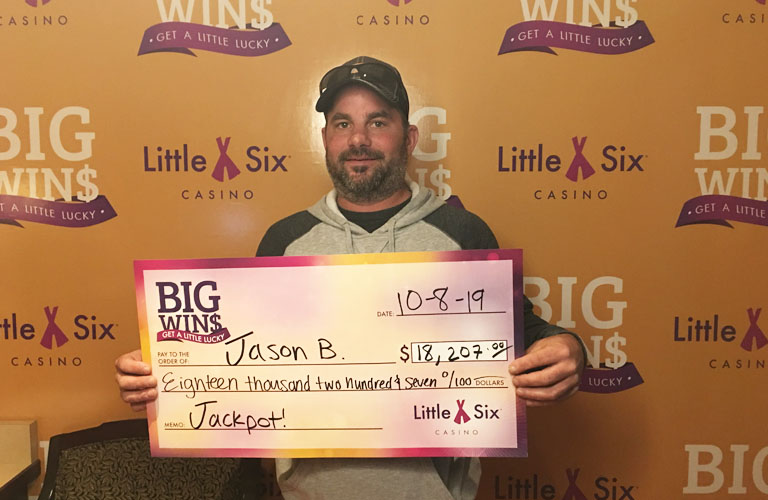 Congratulations to Jason for Winning $18,207